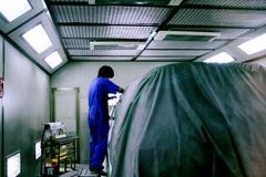 自動車修理・デントリペアの永田鈑金[三重県四日市] 車体塗装のプロの技