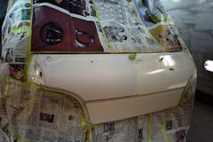 自動車修理・デントリペアの永田鈑金[三重県四日市] 塗装──美しい仕上がりの実現へ。